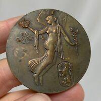 Belgium 1930 Centenary Bronze Medal Marcel Rau - 81297