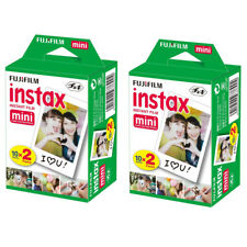 40 Prints Fujifilm Instax Mini Instant Film for Fuji 11, 9 & Polaroid 300 Camera