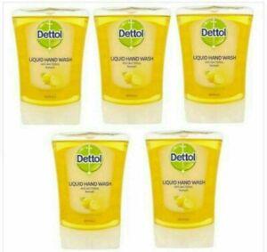 5 x Dettol No Touch Refill Refresh Citrus 250ml