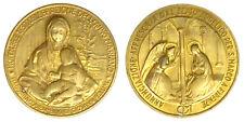 Medaglia Celebrazione Anno Mariano Madonna Bambino di Giovanni Bellini #A89