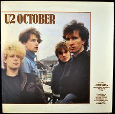 "U2 ""October"" LP Island 90092 Rock NM"