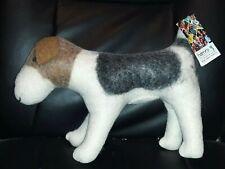 Hamro Village Wool stuffed animal Fair Trade Handmade  dog puppy. Nepal. NWT