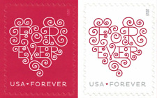 1000 (50 x 20) USPS Forever Love Hearts Postage Stamps First Class/Ship From USA