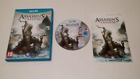 Assassin's Creed III (Nintendo Wii U) European Version PAL