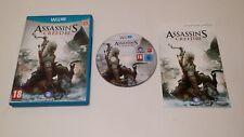 Assassin's Creed III (Nintendo Wii U) European Version PAL