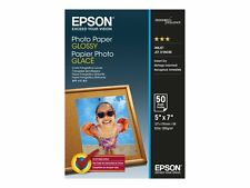 Epson Photo Paper Glossy 130x180mm Ref C13S042545 50 Sheets
