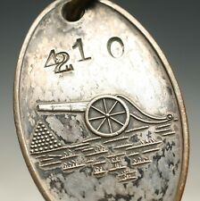 ANTIQUE HOTEL KEY MOLLY PITCHER REVOLUTIONARY WAR MONMOUTH NJ RED BANK AWESOME!!