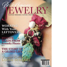 Autumn 2010 Belle Armoire JEWELRY Magazine project ART BOOK clay wire bead paper