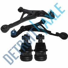 New 4pc Kit: Front Lower Control Arms + Front Upper Ball Joints Sebring Stratus