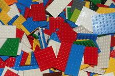 LEGO 25 Platten bunt gelb rot blau grün ab 4x4 Bauplatten City Ninjago Star Wars