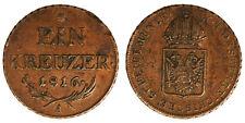 Austria 1 Kreuzer 1816 A #6553A