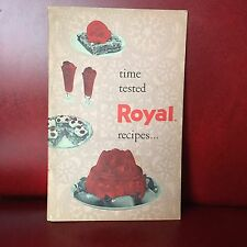Vintage Royal Pudding Gelatin Recipe Cookbook Time Tested Recipes Booklet