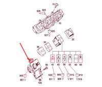 MERCEDES-BENZ VITO W639 Light Control Switch Unit A6395450204 NEW GENUINE