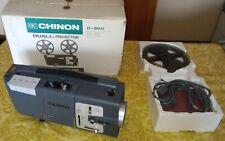 Chinon Dual 8mm projector C-300 proiettore COMPLETE