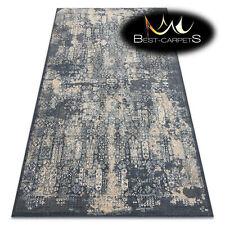 Original natural WOOL Rugs NAIN navy beige vintage exclusive soft best carpets