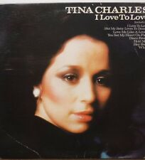 Tina Charles I Love to Love 33RPM AL34424  121816LLE