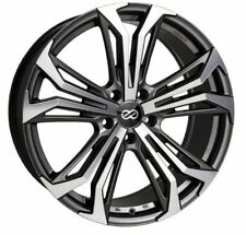 18x8 Enkei Rims VORTEX5 5x110 +40 Antrhracite Wheels (Set of 4)