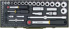"""PROXXON Set di chiavi a bussola da 1/4"""" e da 1/2"""" 56 pz. 23040"""