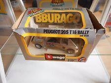 Bburago Burago Peugeot 205 T16 Rally in Grey on 1:24 in Box