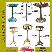 Deluxe Bird Table Feeder Feeding Station&Bird Feeding Station&Garden Bird Baths