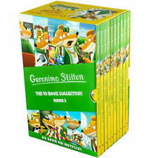 Geronimo Stilton 10 Book Set Collection Series 2 - School Trip to Niagara Falls