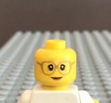 LEGO Minifig Head Older Woman Grandmother Grandma
