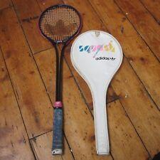 Adidas TSR-40 Vintage 80s? 90s? Squash Racket Racquet Raquet w Case Trefoil Logo