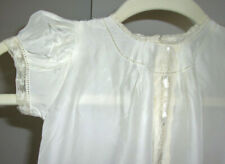 Antique vintage baby doll child Christening gown 3 pc dress coat hat outfit!