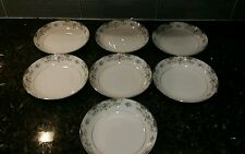 7 Bowls Fine Seyei China in the Victorienne Pattern