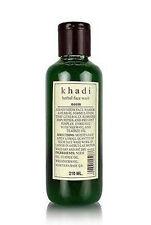 Khadi Herbal Neem Face Wash Enriched with Neem oil $ Teatree Oil - 210 ml