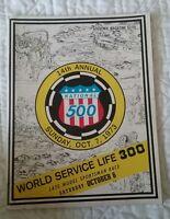 14th Annual National 500 Souvenir Magazine 1973