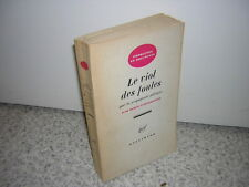 1961.viol des foules / Tchakhotine.bon ex.