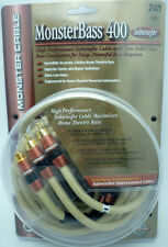 MonsterBass 400 8 meter Subwoofer Cable 24 feet