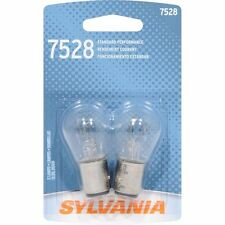 Sylvania 7528 Basic Miniature Bulb, (Pack Of 2)  New In Box