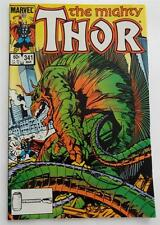 Walter Simonson  SIGNED  The Mighty Thor  #341 (March 1984)  In Person SDCC 2014