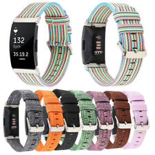 For Fitbit Inspire HR Woven Nylon Canvas Replacement Watch Band Strap Bracelet