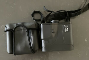 Bushnell Yardage Pro 500 Rangefinder Tested Working Black w/ Soft Case