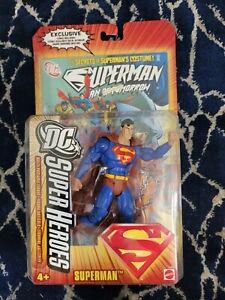 DC Super Heroes SUPERMAN S3 Select Sculpt dcuc universe classics mattel justice