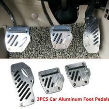 3X Car Non-skid Aluminum Accelerator Pedal Pad Cover throttle For Brake Clutch