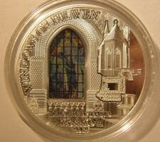 Cook 2012 Windows of Heaven, Church of St.Francis, Krakow, 50g Silver Coin