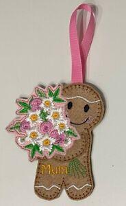 Lockdown Gingerbread Man Mum Mother's Day Birthday Valentine Anniversary Flowers