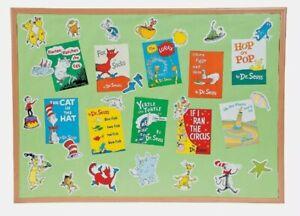 Dr. Seuss Favorite Books Mini Bulletin Board Set - Educational - 33 Pieces