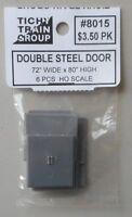 Double Steel Door HO 1:87 SCALE LAYOUT DIORAMA TICHY TRAINS 8015