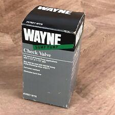 Wayne Sump Pump Check Valve 57027-WYN
