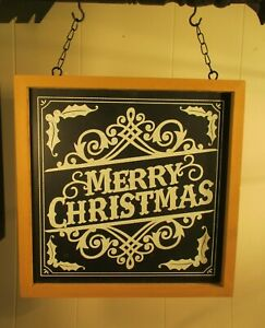 """""""MERRY CHRISTMAS SIGN"""" - Replacement Sign - Wood Sign for Country Arrow Holders"""