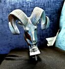 Nos Dodge Ram Head Hood Ornament 1984 - 1990 Ramcharger Arizona Part Very Nice