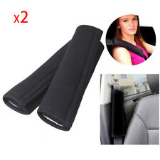 2PC Car Safety Seat Belt Shoulder Pads Cover Cushion Harness Comfortable Pad CN