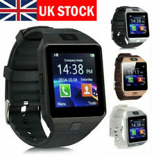 Bluetooth Smart Wrist Watch Phone Mate Fit For  Android iOS iPhone GPRS SIM UK