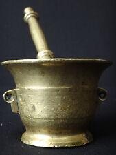 Ancien mortier en bronze XVIII Antique mortar 18th