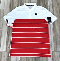 Nike Ohio State Buckeyes Short Sleeve Athletic Sports Polo Shirt Mens Medium